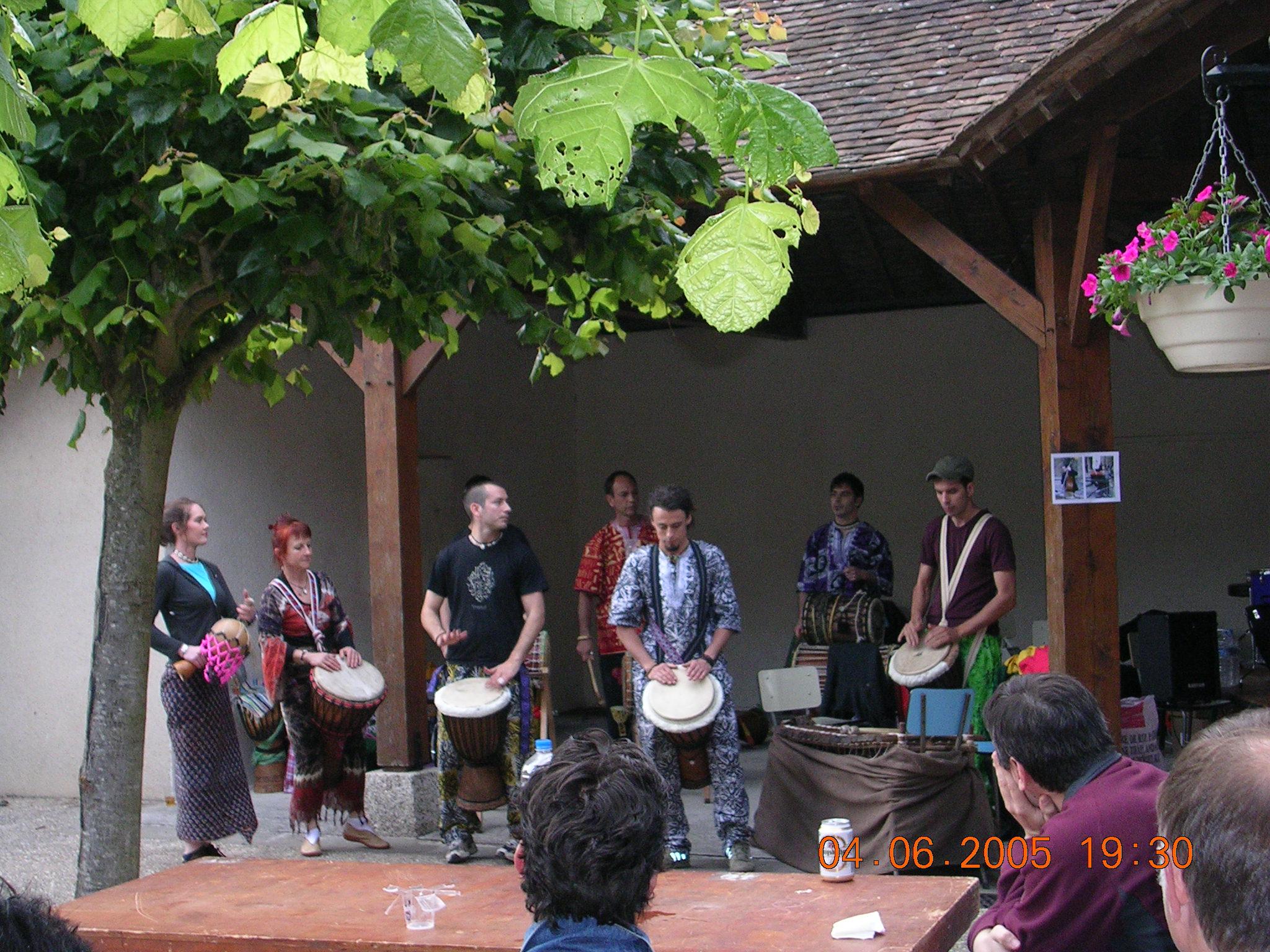 World Fest Music 2005 juin 2005 Chateau Landon