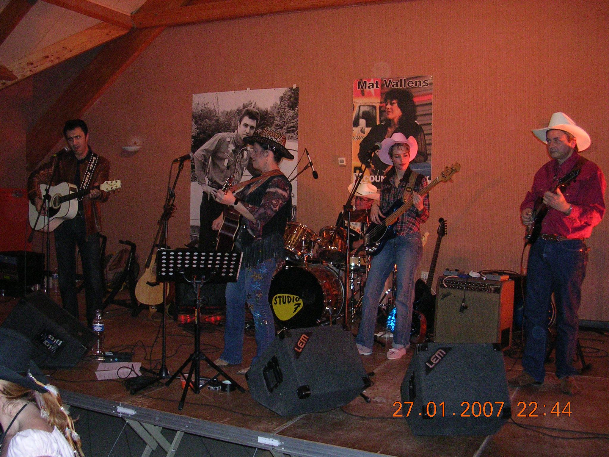 World Fest Music ou Day Fest Country & Bluegrass février 2007 Darvault