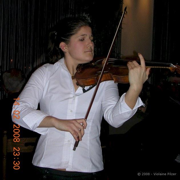 Caroline Bugala violoniste