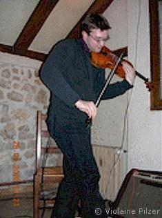 Pierre-Marie Braye-Weppe violoniste jazz gadjo